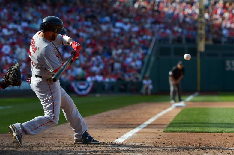 Dustin Pedroia is hitting .300 with 3 home runs. (Getty)