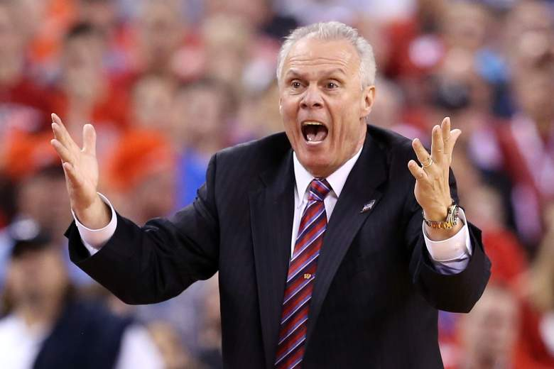 Wisconsin coach Bo Ryan.  (Getty)