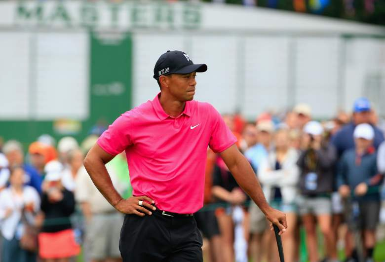 Tiger Woods is back, but will he make the cut at Augusta National? (Getty)