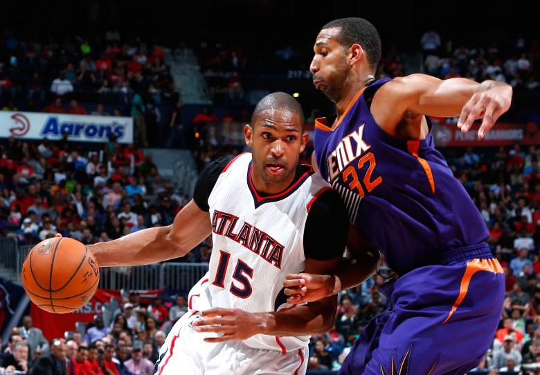 Al Horford (15) and the Atlanta Hawks are the East's top seed. (Getty)