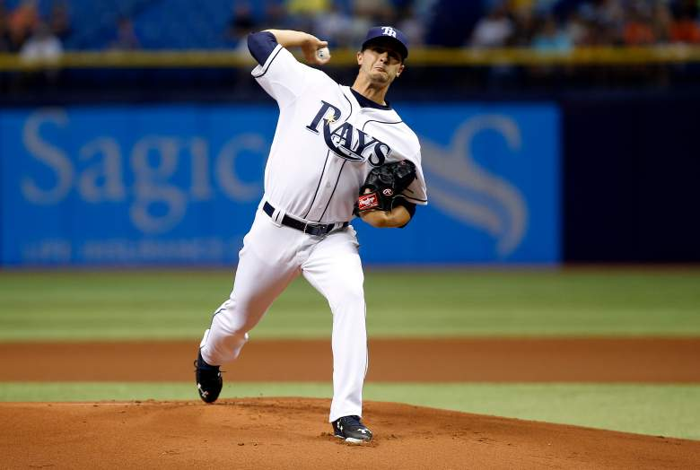 Jake Odorizzi of the Rays was outstanding in his first start. (Getty)