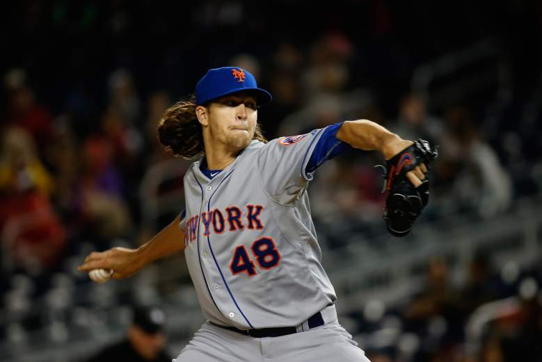 Jacob deGrom has been lights out at Citi Field in his young career. (Getty)