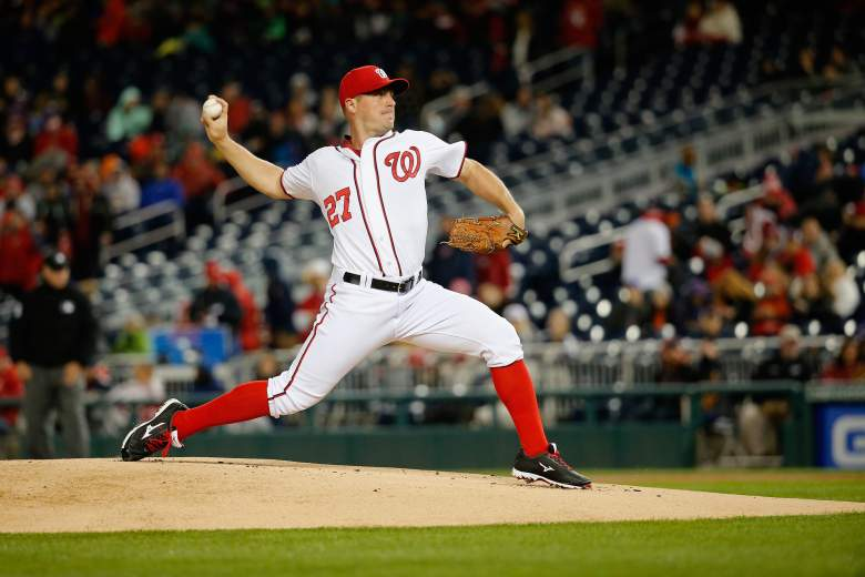 Jordan Zimmerman has a favorable matchup vs. the Phillies. (Getty)