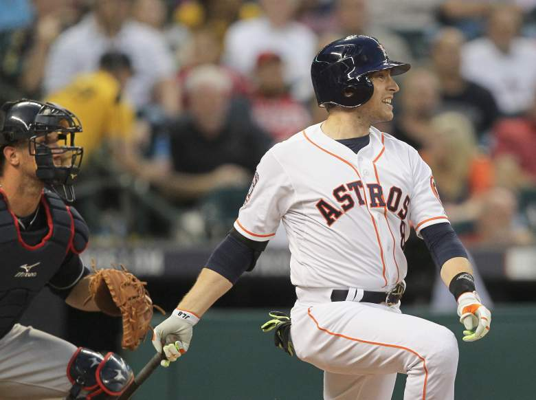 The Astros' Jed Lowrie. (Getty)