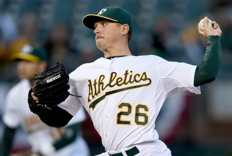 Scott Kazmir struck out 10 in his first outing and Monday gets the light-hitting Astros. (Getty)