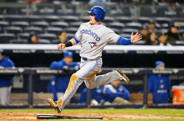 Blue Jays third baseman is beginning to heat up and has a reasonable price tag. (Getty)