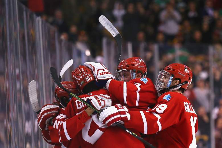 Boston University plays Providence for the 2015 National Championship. Getty)
