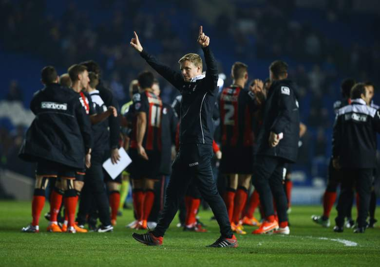 Eddie Howe has led a revolution at Bournemouth. (Getty)