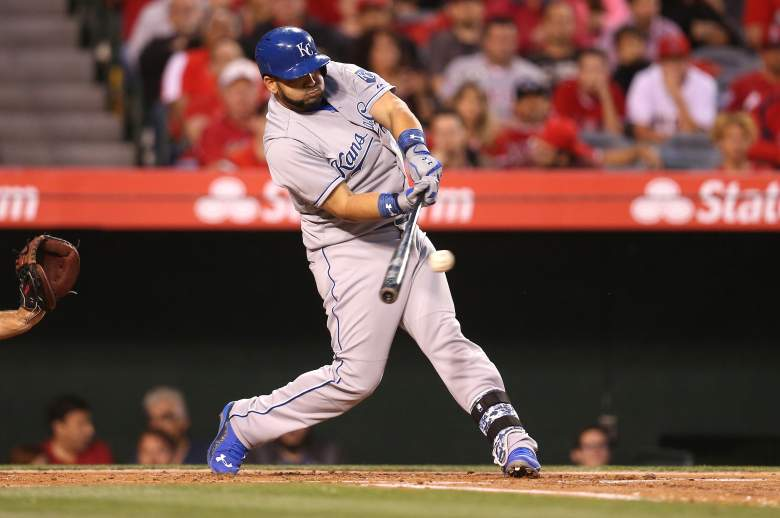 Kendrys Morales can be had for a cheap price and he's hitting .351. (Getty)