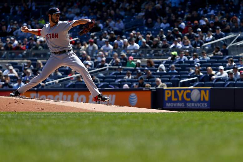Joe Kelly held the Yankees to 1 hit and 1 run in his first start. (Getty)