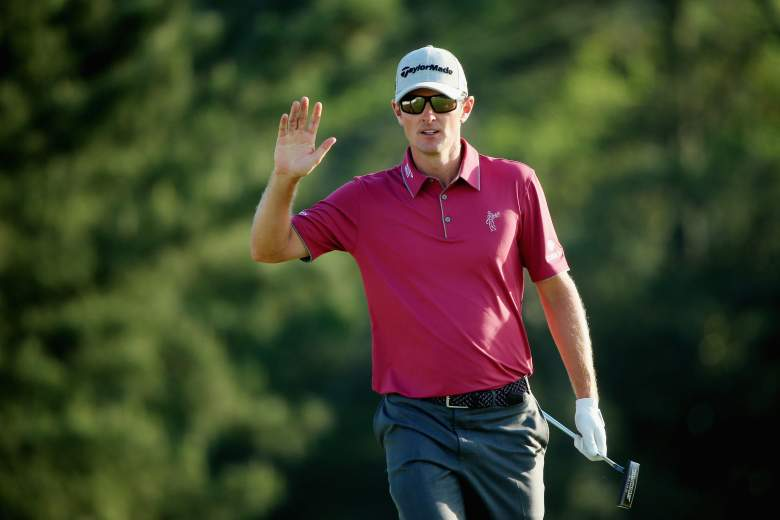 A birdie on the final hole put Justin Rose into the final Masters pairing on Sunday with leader Jordan Spieth. (Getty)