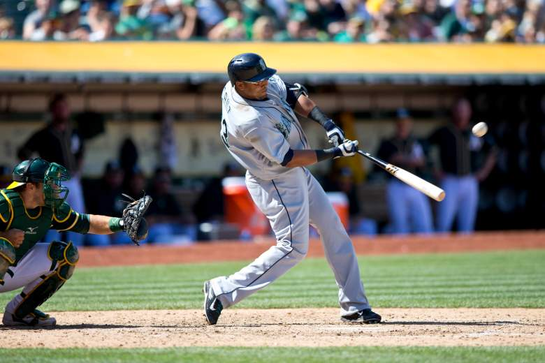 Nelson Cruz has homered in 5 straight games. (Getty)