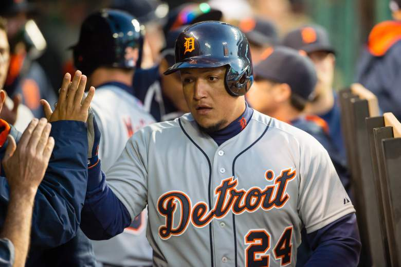 The Tigers' Miguel Cabrera is one of the hottest hitters in the league. (Getty)