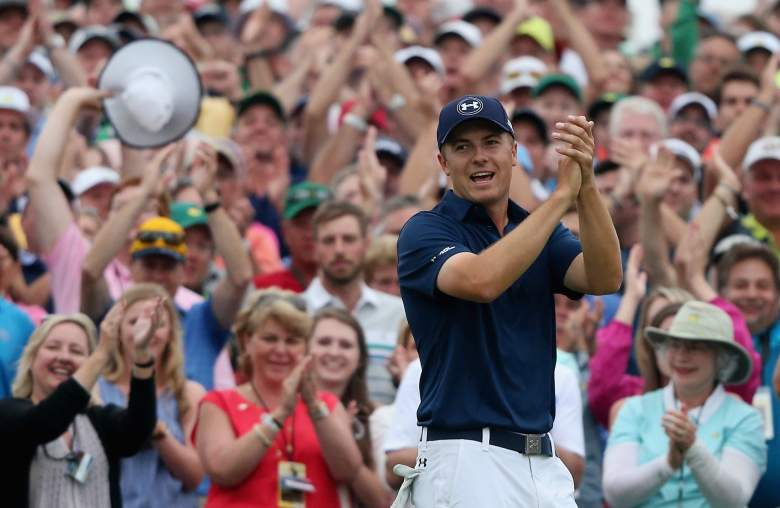 Jordan Spieth captured his first Masters title Sunday. (Getty)