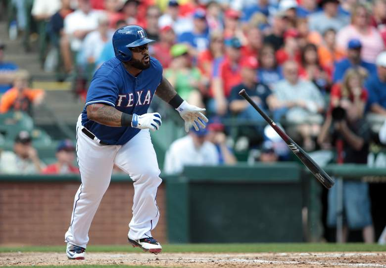Rangers 1B Prince Fielder hasn't homered, but he does have 6 multiple-hit games. (Getty)