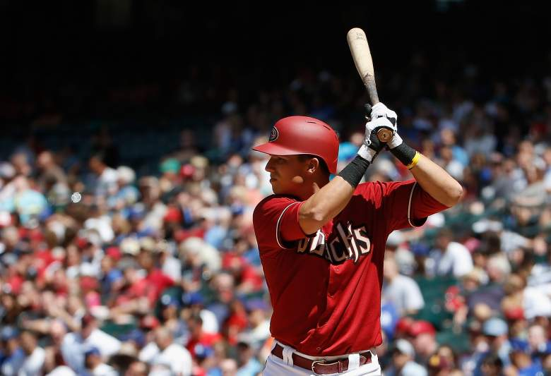Jake Lamb is hitting .381 vs. right-handed pitching. (Getty)