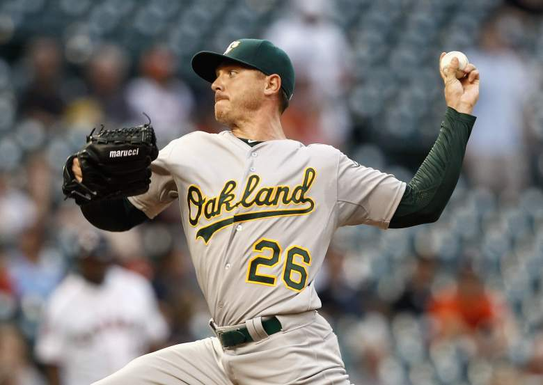 Scott Kazmir has 18 strikeouts in 13 innings. (Getty)