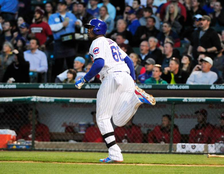 Jorge Soler has 4 career home runs vs. the Reds. (Getty)