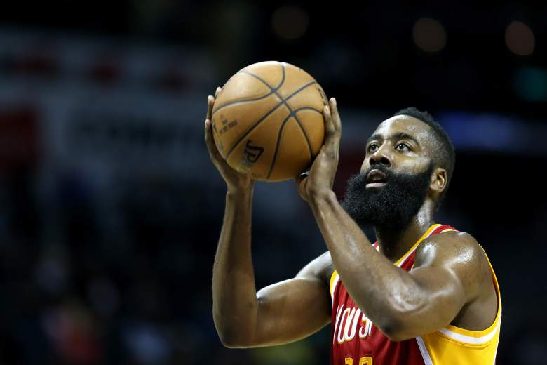 James Harden of the Houston Rockets. (Getty)
