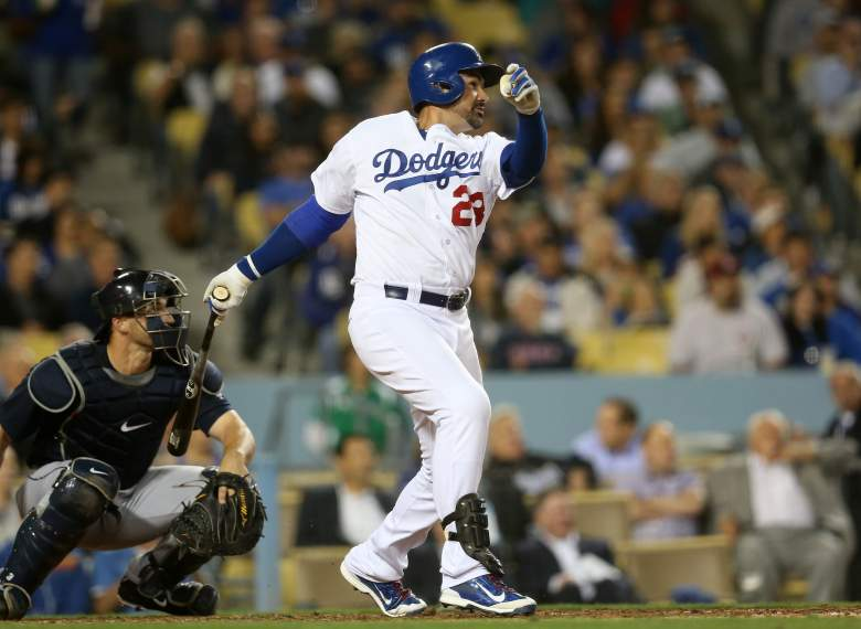 Adrian Gonzalez has 5 home runs. (Getty)