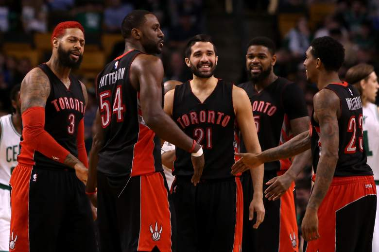 The Toronto Raptors host the Washington Wizards in Game 1 of their NBA Playoff series Saturday. (Getty)