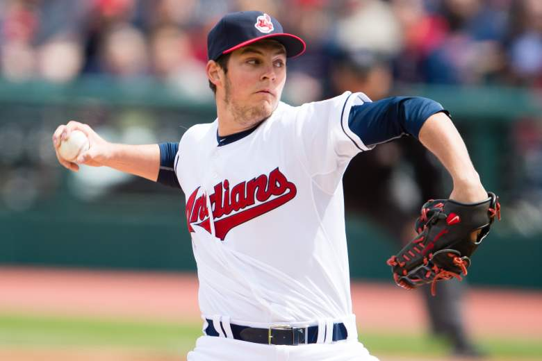 Trevor Bauer of the Indians. (Getty)