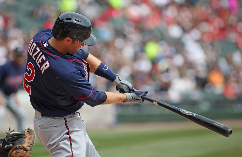 Brian Dozier fares very well vs. Indians starter Danny Salazar. (Getty)