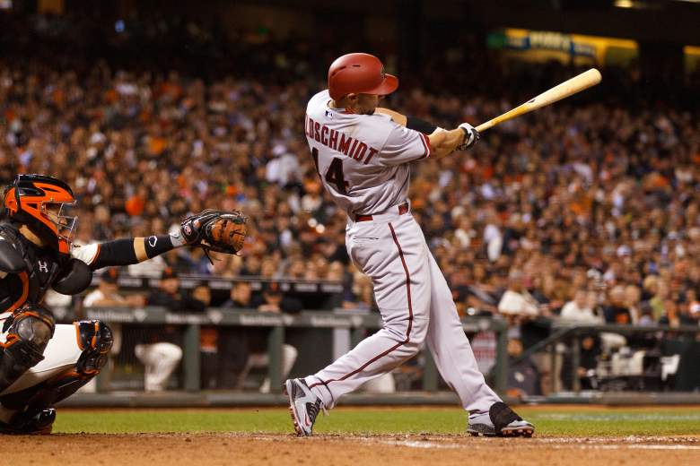Paul Goldschmidt has been tearing the cover off the ball. (Getty)
