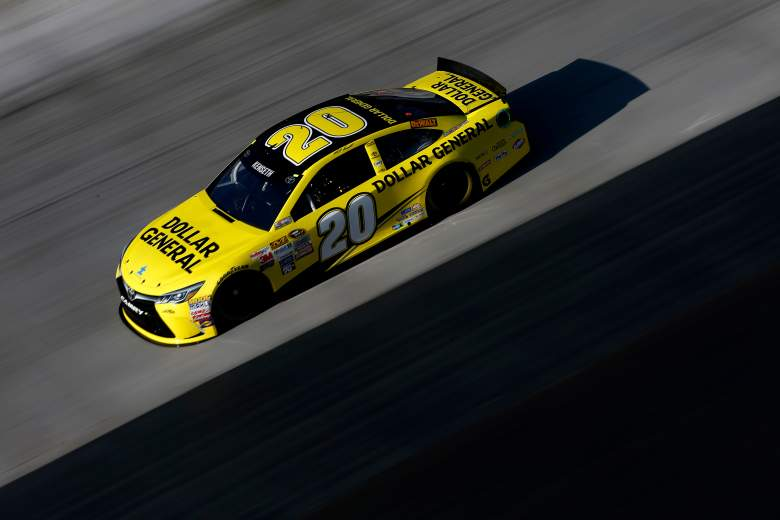 Matt Kenseth is on the pole for Sunday's Food City 500 at Bristol Motor Speedway. (Getty)