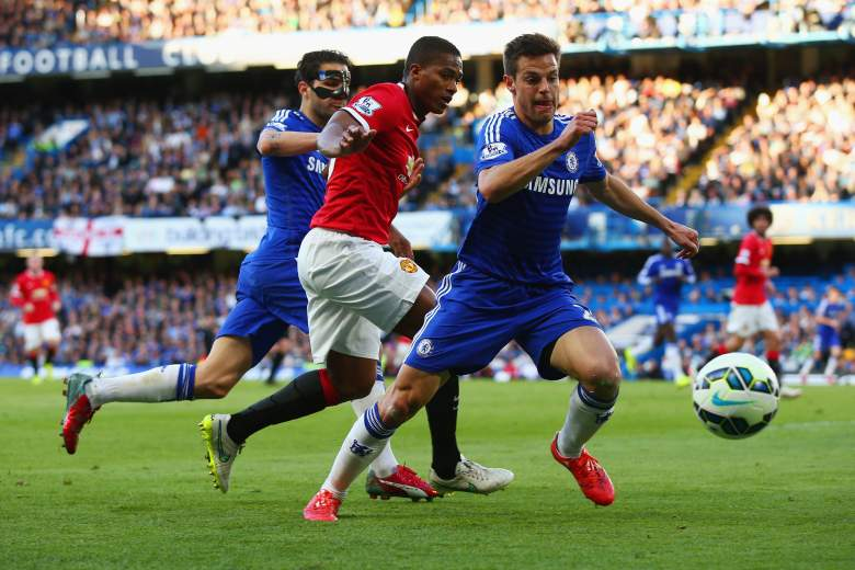 Chelsea defeated Arsenal 2-0 in October. (Getty)