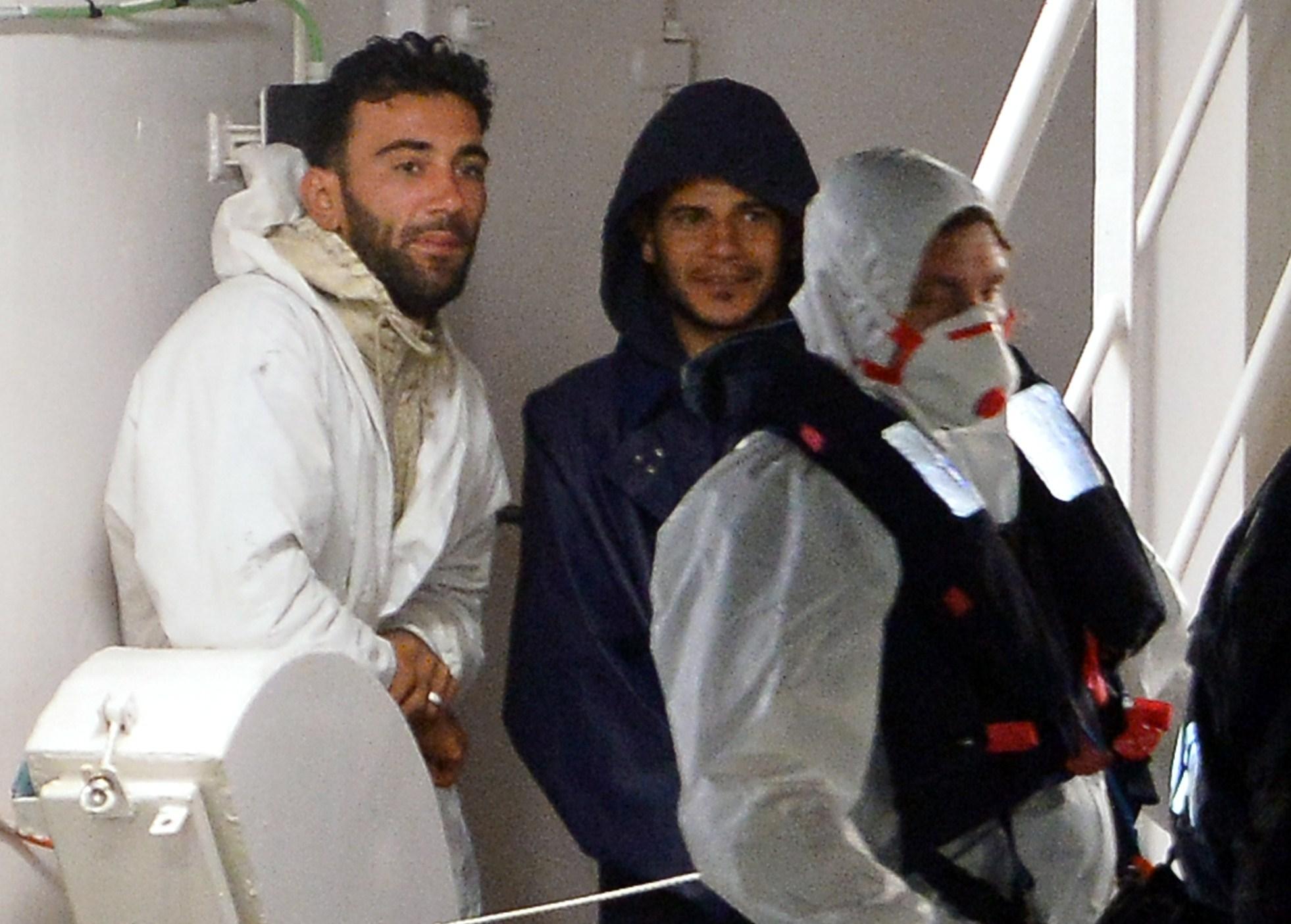 mohammed ali malek, captain malek, captain Mediterranean ship captain arrested,  Mahmud Bikhit