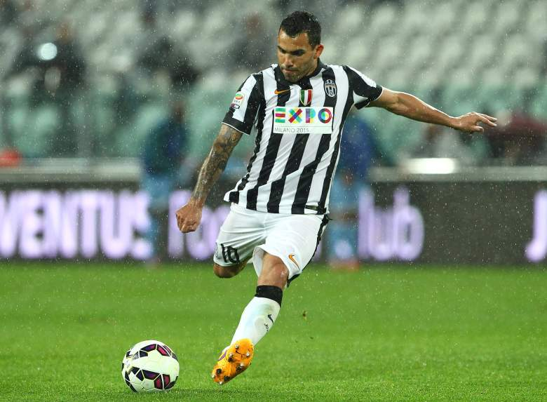 Carlos Tevez has fired 26 goals in 37 matches for Juventus this season. (Getty)
