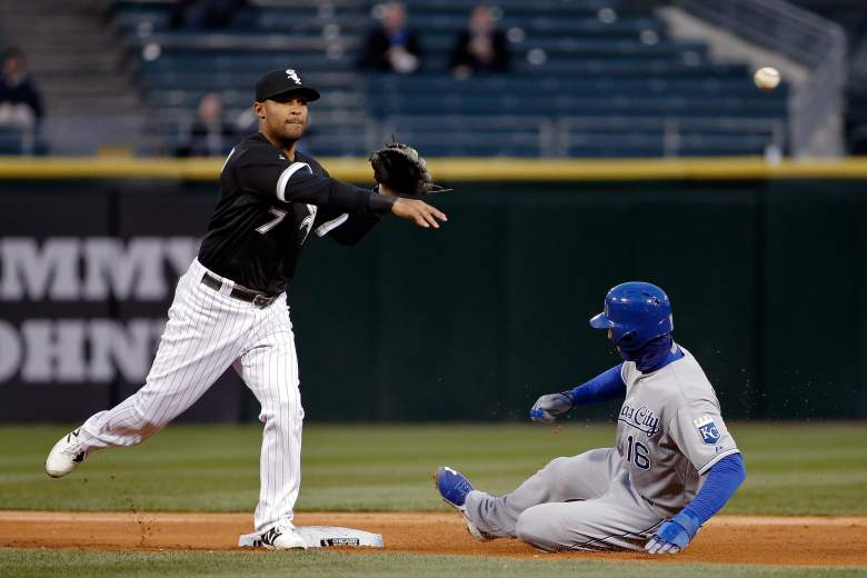 The Kansas City Royals and Chicago White Sox got into a brawl in the 7th inning of Thursday night's game at U.S. Celluar Field in Chicago. (Getty)