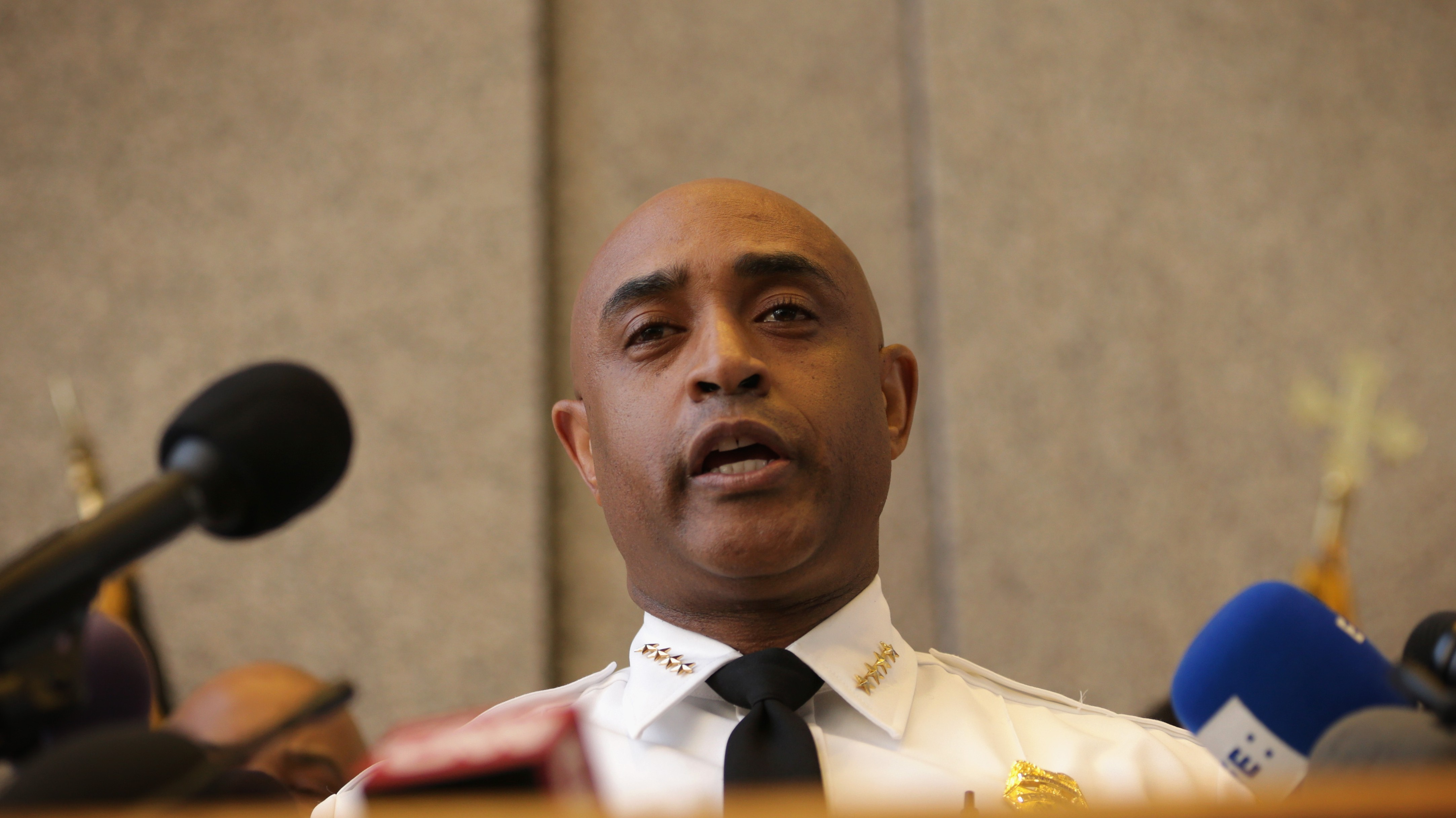 Baltimore City Police Commissioner Anthony Batts. (Getty)