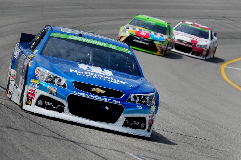 Dale Earnhardt Jr. is a favorite to win the Geico 500 at Talladega Superspeedway on Sunday. (Getty)