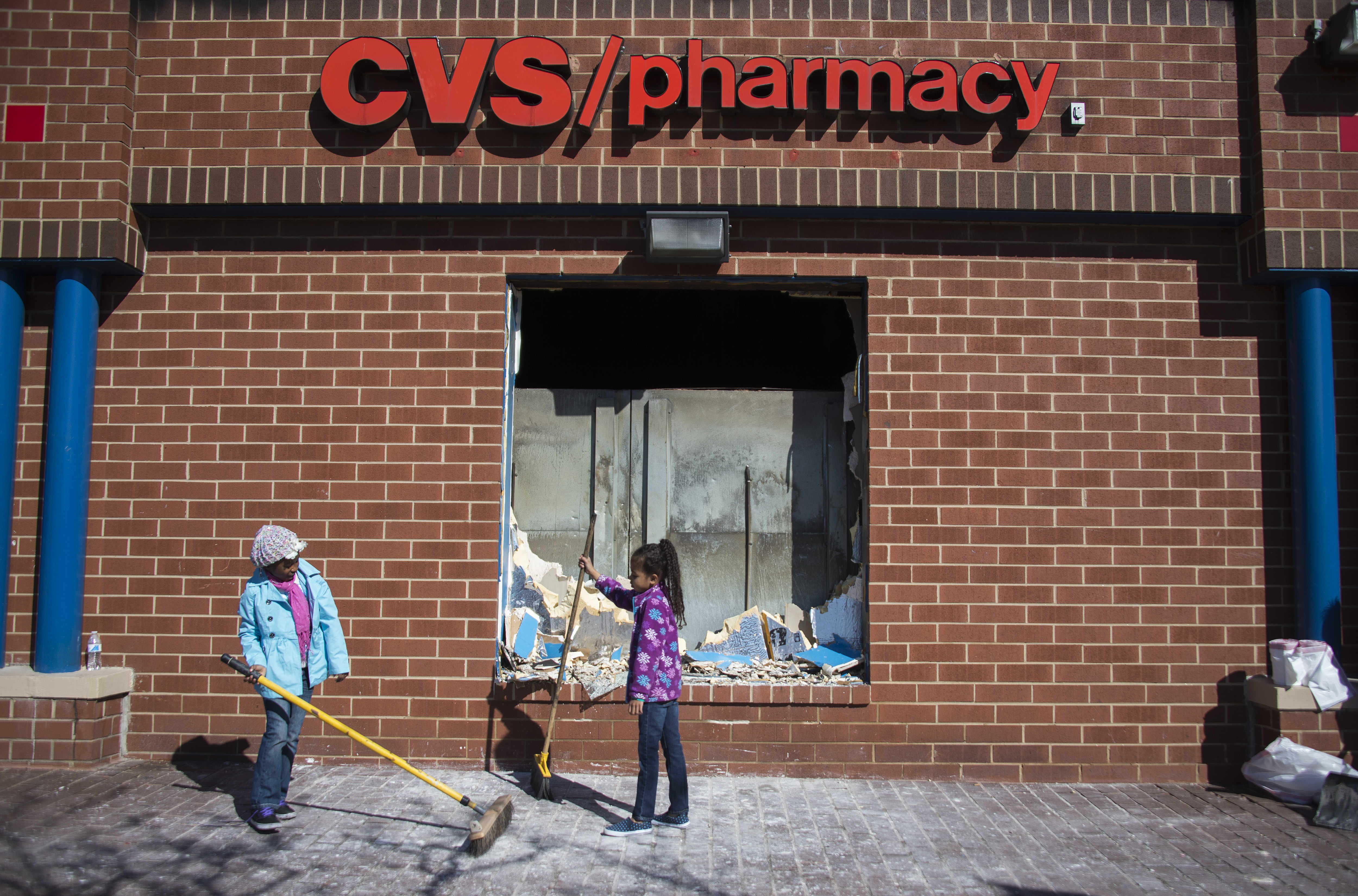 baltimore riots, baltimore riots cleanup