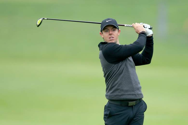 Rory McIlroy is the top seed in the WGC Match Play. (Getty)