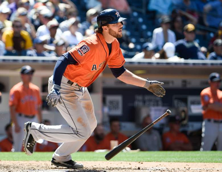 Jake Marisnick has been a pleasant surprise for the Astros - and fantasy owners. (Getty)