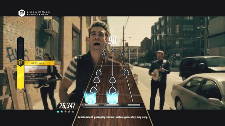 Guitar Hero Live GHTV