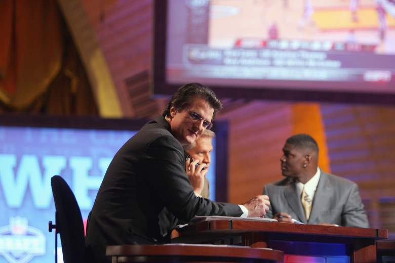 Mel Kiper Jr. has been at ESPN for over 30 years. (Getty)