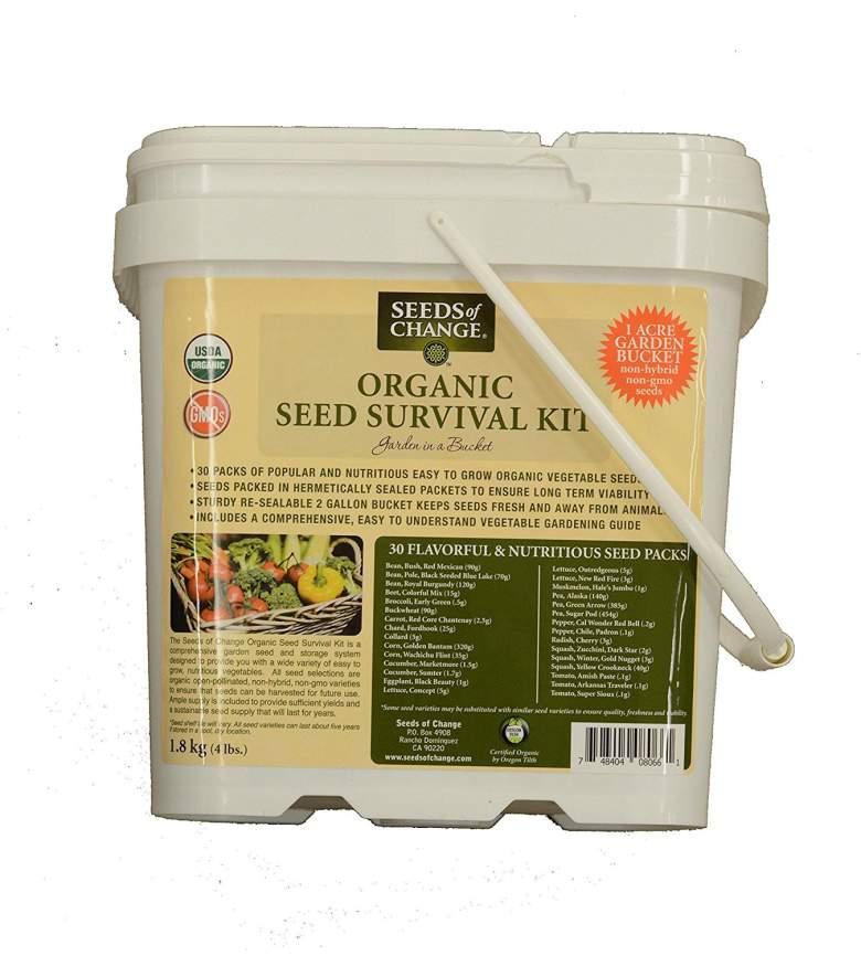Seeds Of Change Organic Seed Survival Kit