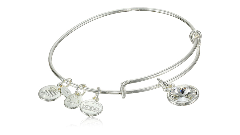 image of alex and ani birthstone bangle