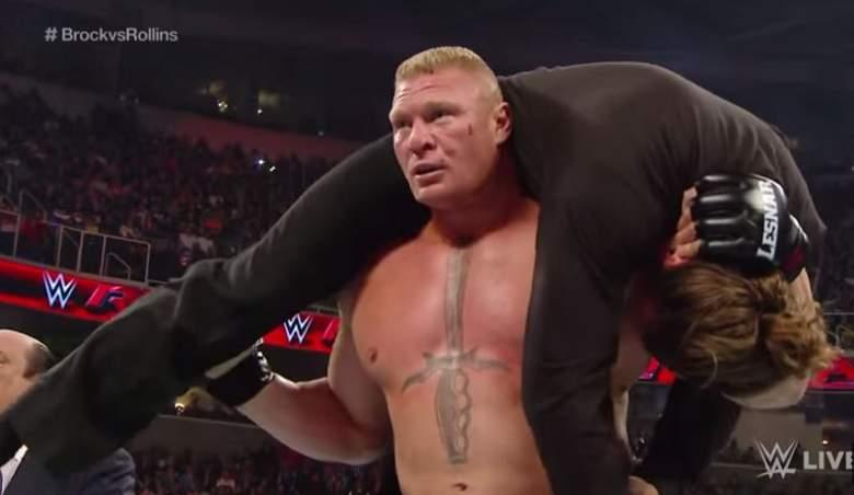 Brock Lesnar, Monday Night RAW