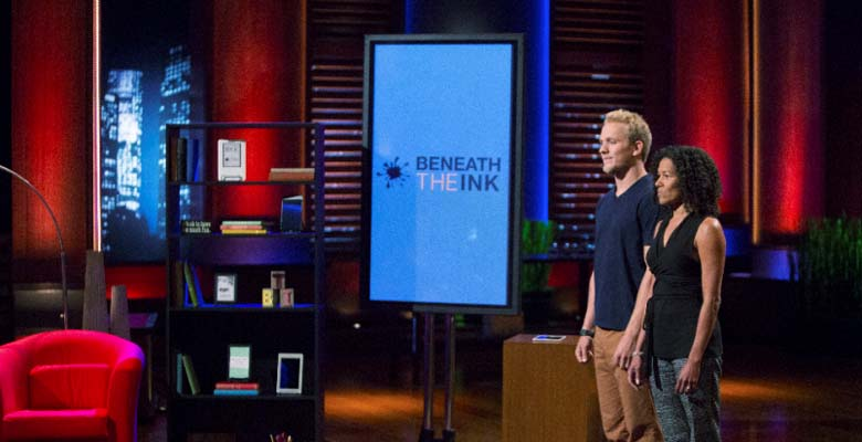beneath the ink, e books shark tank