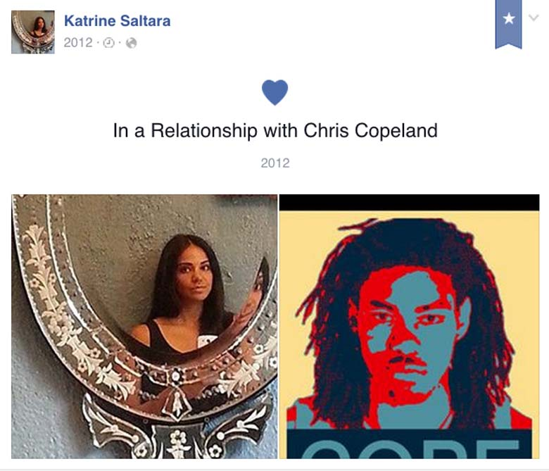 Katrine Saltara Chris Copeland