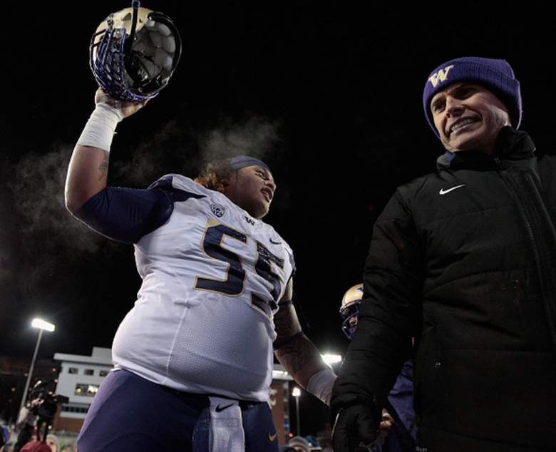 Washington DT Danny Shelton. (Getty)