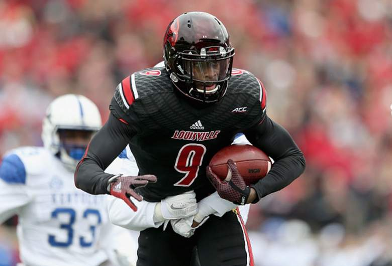 Louisville Cardinals wide receiver DeVante Parker. (Getty)