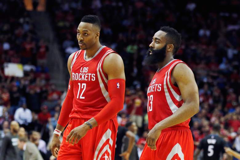 dwight howard, james harden, nba playoffs