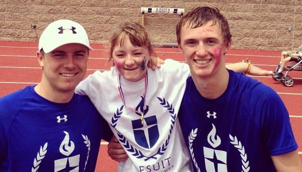 Jordan, Ellie and Steven Spieth. (Instagram)