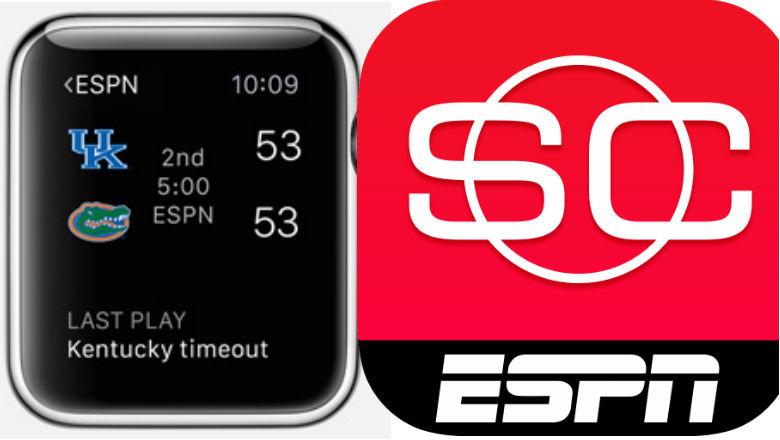 Apple Watch Apps, ESPN app